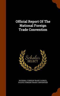 Official Report of the National Foreign Trade Convention image