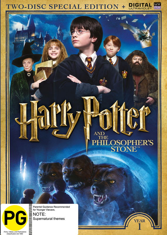 Harry Potter: Year 1 - The Philosophers Stone (Special Edition) on DVD