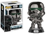 Star Wars: Rogue One - Imperial Death Trooper (Chrome) Pop! Vinyl Figure