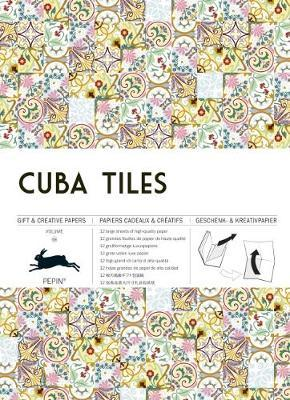 2b19e79a1749 Cuba Tiles  Gift   Creative Paper Book  Vol. 69 by Pepin Van Roojen