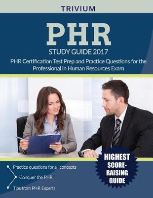 Phr(r) Study Guide 2017 by Phr Exam Prep Team image