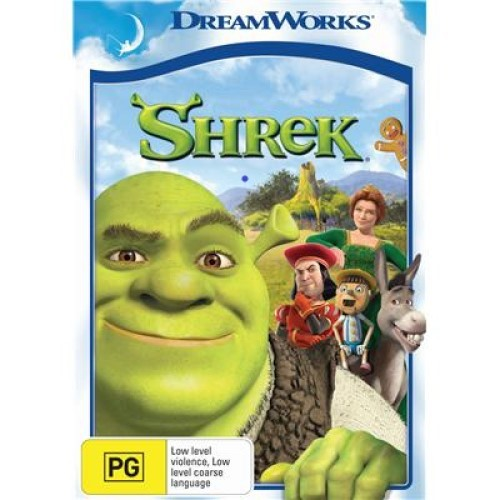 Shrek (New Packaging) on DVD