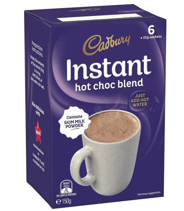 Cadbury: Instant Hot Chocolate Sachets - (30 Pack)