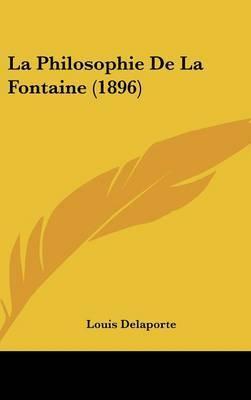 La Philosophie de La Fontaine (1896) by Louis Delaporte image