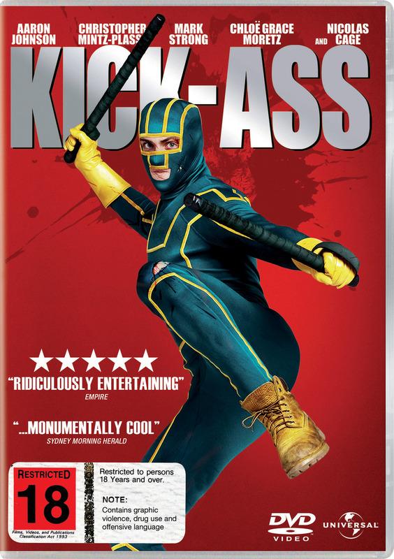 Kick-Ass on DVD