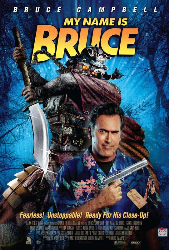 My Name is Bruce on DVD