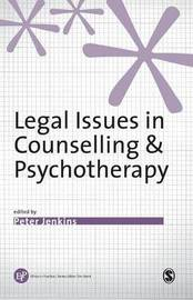 Legal Issues in Counselling & Psychotherapy image