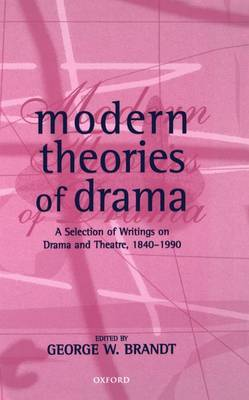 Modern Theories of Drama image