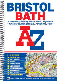 Bristol and Bath Street Atlas by Geographers A-Z Map Company