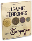 Game of Thrones: House Targaryen Coin Collection - Set of 4