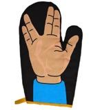 Trek Hand Signal - Oven Glove