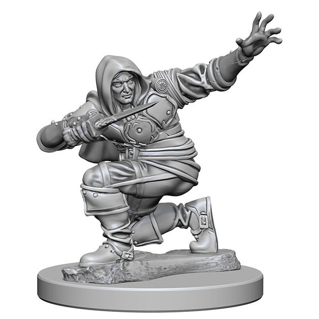 Pathfinder Deep Cuts: Unpainted Miniatures - Human Male Rogue