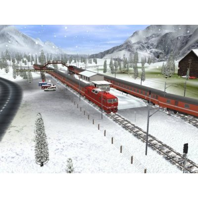 Trainz Railroad Simulator 2006 for PC Games image