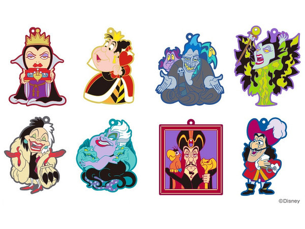 Disney Villains Vol.2 - Rubber Mascot Charm (Blind Bag) image
