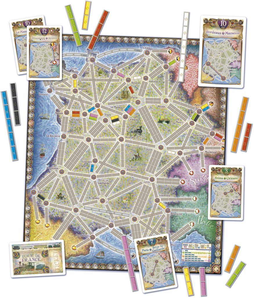 Ticket To Ride: France & Old West image