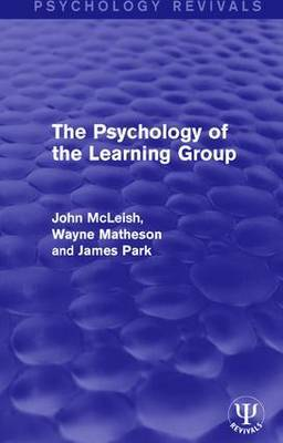 The Psychology of the Learning Group by John McLeish image