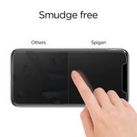 Spigen iPhone X Premium Tempered Glass Screen Protector Super HD Clarity image