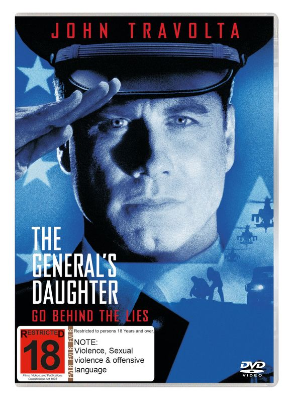 The General's Daughter on DVD