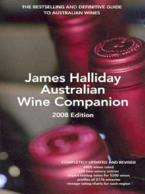 James Halliday's Australian Wine Companion: 2008 by James Halliday image