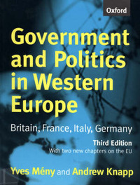 Government and Politics in Western Europe by Yves Meny