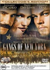 Gangs of New York Collector's Edition on DVD