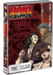 Baki The Grappler - Round 5: Young Champion on DVD