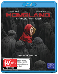 Homeland - The Complete Fourth Season on Blu-ray