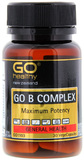 Go Healthy GO B Complex (30 Capsules)