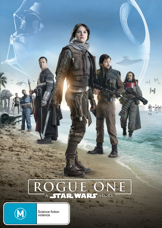 Rogue One: A Star Wars Story on DVD