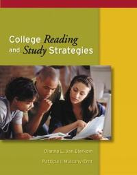 College Reading and Study Strategies (with InfoTrac (R)) by Patricia Mulcahy-Ernt image