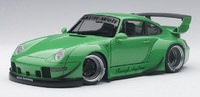 Autoart 1/18 Rwb 993 (Green/Gun Grey Wheels) image