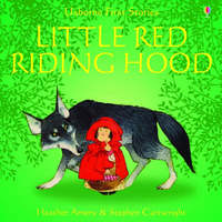 Usborne Fairytale Sticker Stories Little Red Riding Hood by Heather Amery image