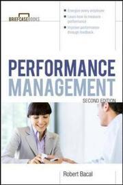 Performance Management 2/E by Robert Bacal