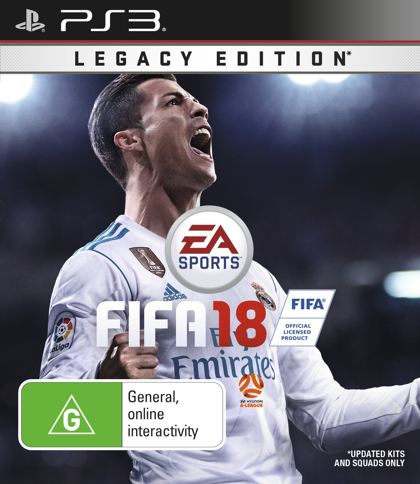 FIFA 18 Legacy Edition for PS3 image