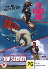 Naked Gun / Airplane / Top Secret on DVD