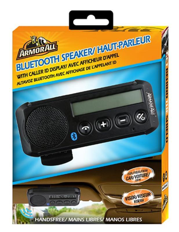 Armor All: Handsfree Bluetooth Speakerphone w/ Visor Clip & Caller ID