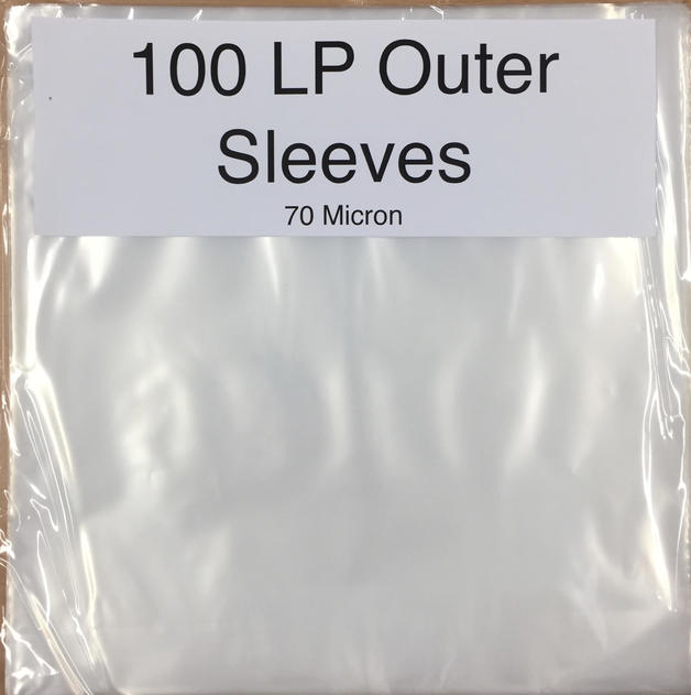 "12"" Poly Outer Sleeves (Pack of 100)"