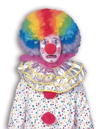 Rubie's: Clown Afro - Adult Wig (Rainbow)