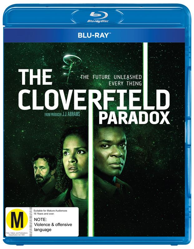The Cloverfield Paradox on Blu-ray