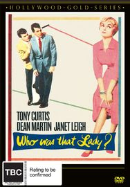 Who Was That Lady? on DVD image