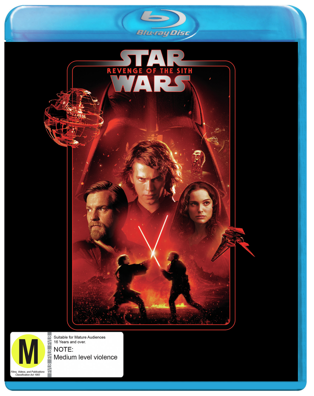 Star Wars Episode Iii Revenge Of The Sith Blu Ray In Stock Buy Now At Mighty Ape Nz