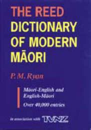 The Reed Dictionary of Modern Maori: Maori-English and English-Maori by P.M. Ryan image
