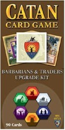 Settlers of Catan Card Game expansion : Barbarians & Traders Upgrade