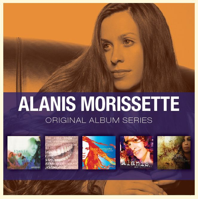 5 Albums in 1 - Original Album Series by Alanis Morissette image