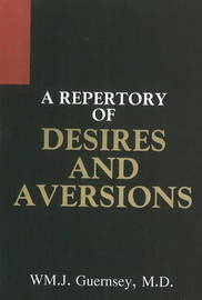 Repertory of Desires and Aversions by William Jefferson Guernsey image