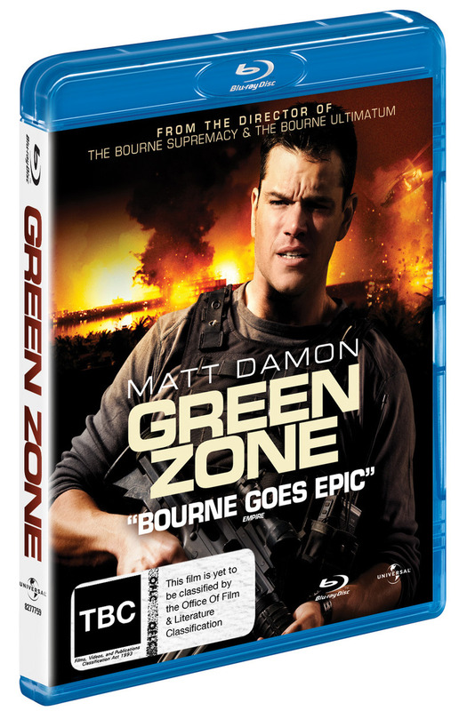 Green Zone on Blu-ray