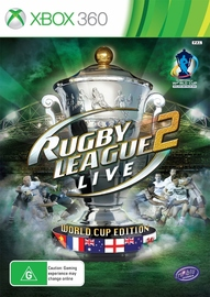Rugby League Live 2 World Cup Edition for X360