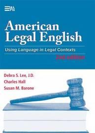 American Legal English by Debra S. Lee image