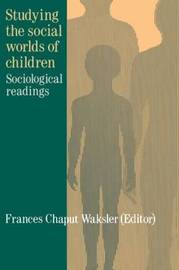 Studying The Social Worlds Of Children image