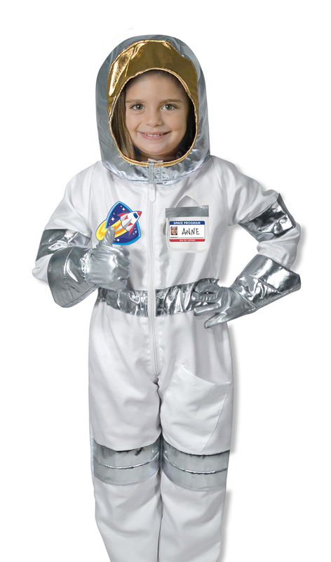 Melissa & Doug: Astronaut Role Play Costume Set